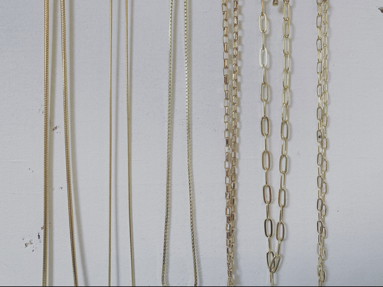 simple layering necklaces