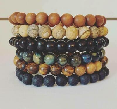 Mens beaded bracelets