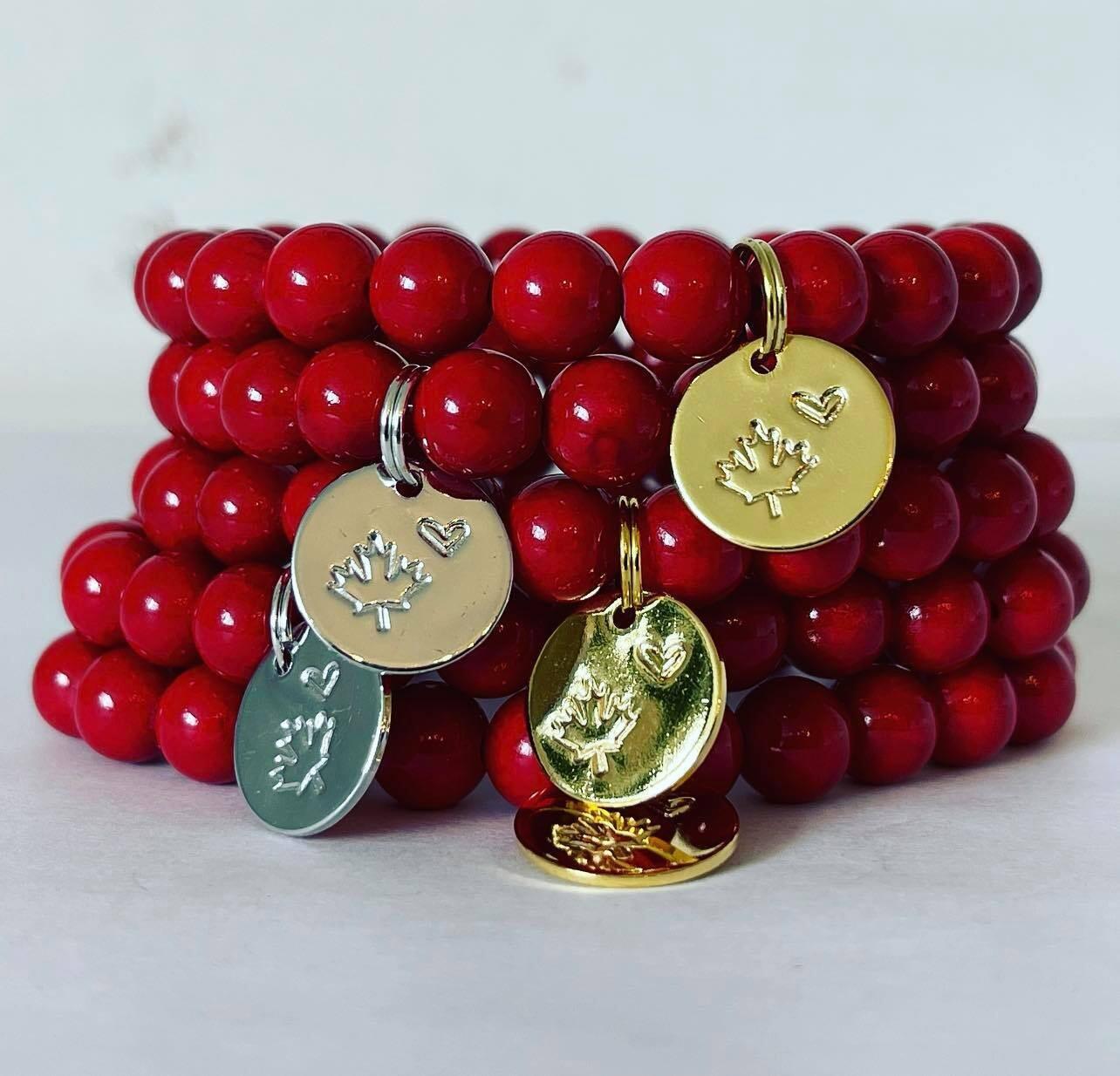 Canada Love bracelet