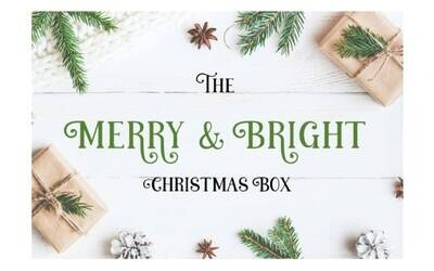 Merry & Bright Christmas box - $200 - SOLD OUT