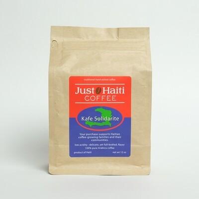 Drip grind, Haitian medium roast, 12 oz.
