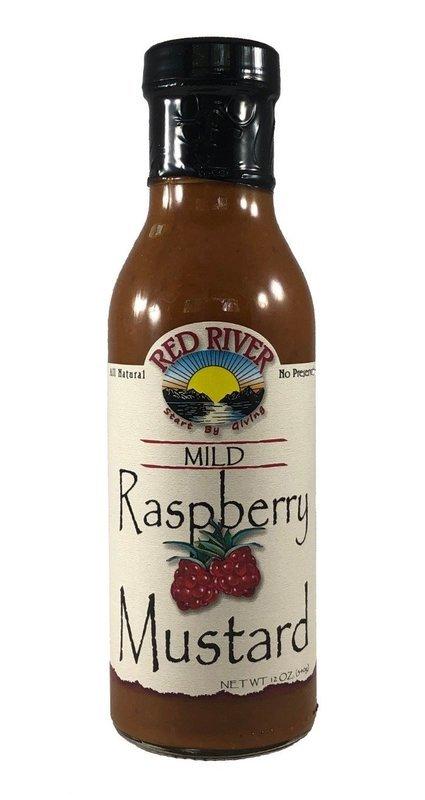 Mild Raspberry Mustard - 12 oz