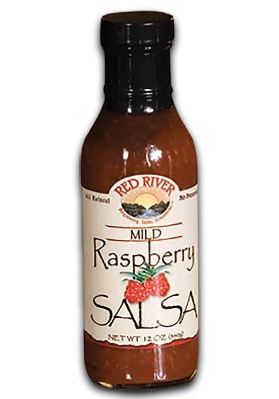 Mild Raspberry Salsa - 12 oz