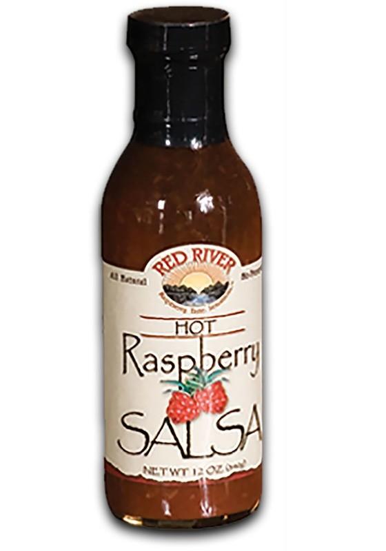 Hot Raspberry Salsa - 12 oz