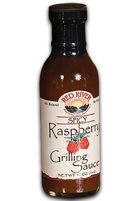 Spicy Raspberry Grilling Sauce - 12 oz
