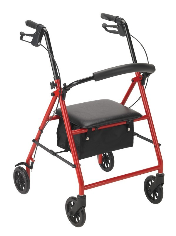 Steel Rollator with 6