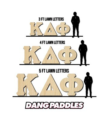 Lawn Letters