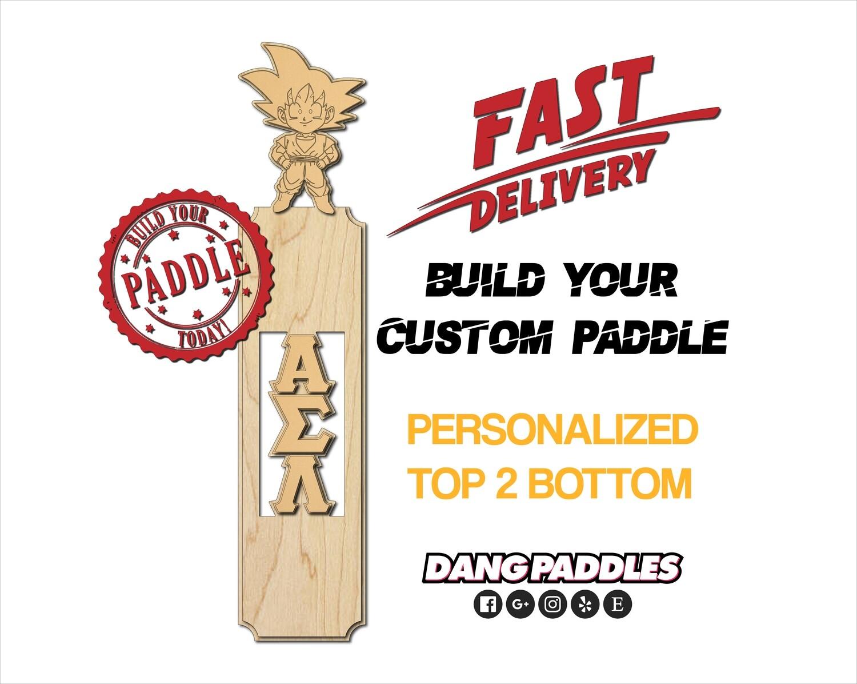 Custom Paddle