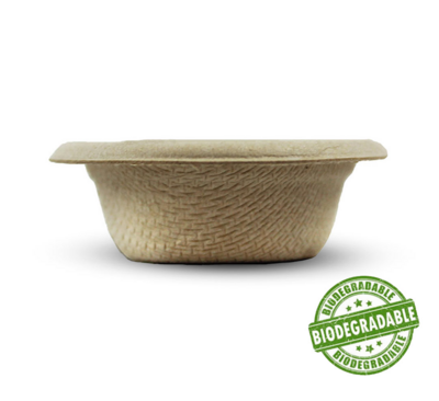 Biodegradable feeding cups