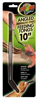10' Angled Feeding Tongs