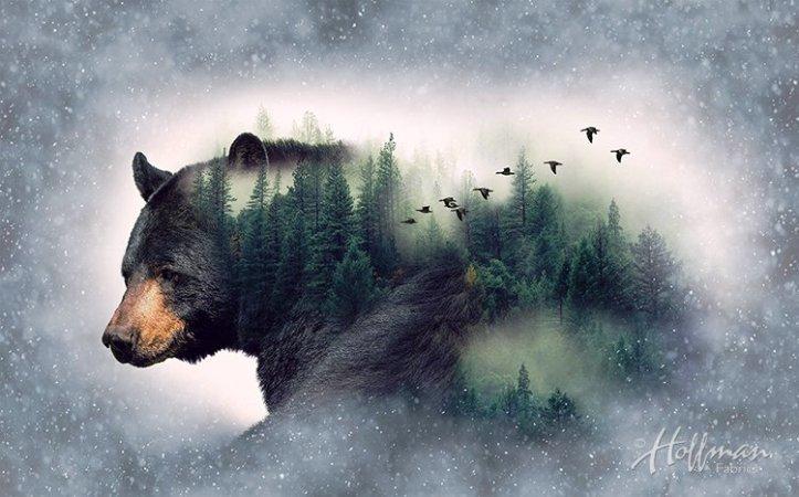 CALL OF THE WILD, BEAR DIGITAL PANEL, 45