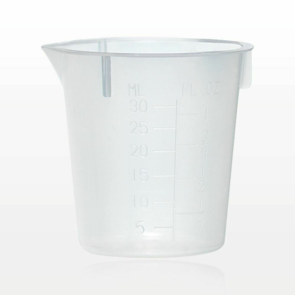 Plastic Beaker 1oz (30ml) (5 count)