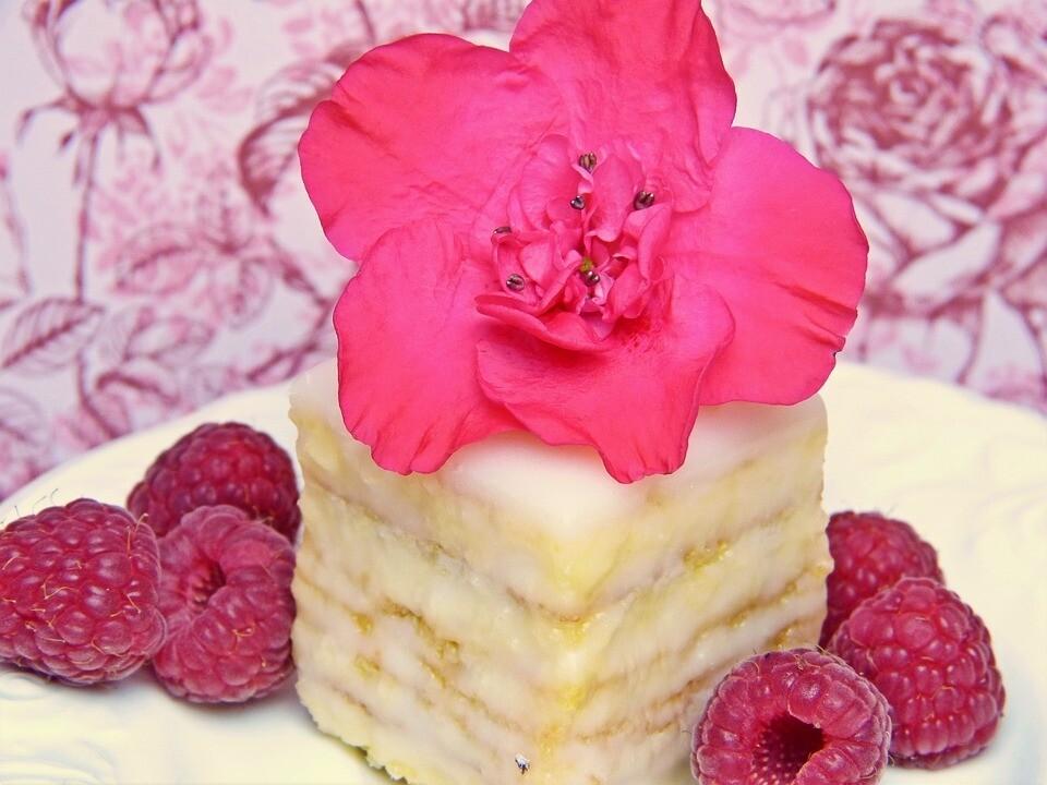 Frosted Vanilla Raspberries Fragrance Oil SES BLEND!!