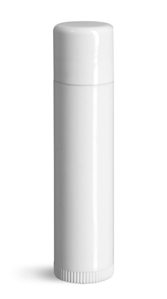 Lip Balm Tubes - 20 count .15oz White