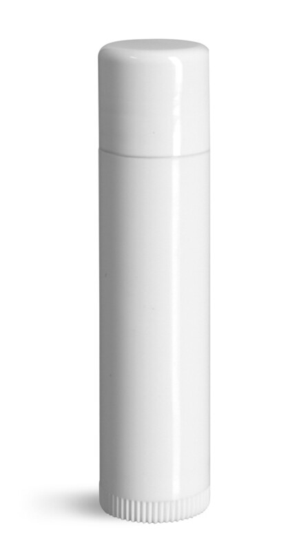 Lip Balm Tubes - 20 count .15oz White