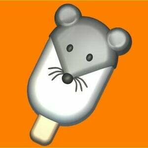 Mouse Ice Cream Mold