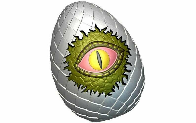 Dragons Eye Egg Mold