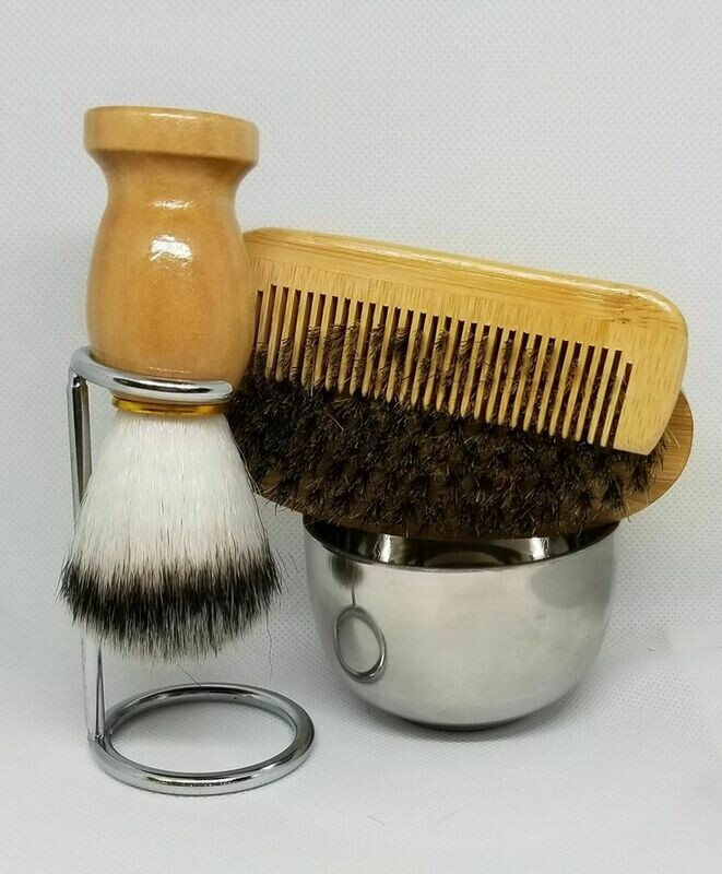 5 Piece Shaving Kit