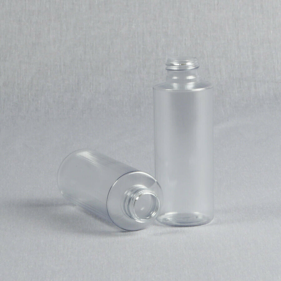 4 oz Clear PVC Cylinder Bottle