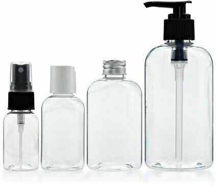 4 oz Clear Spray Bottle