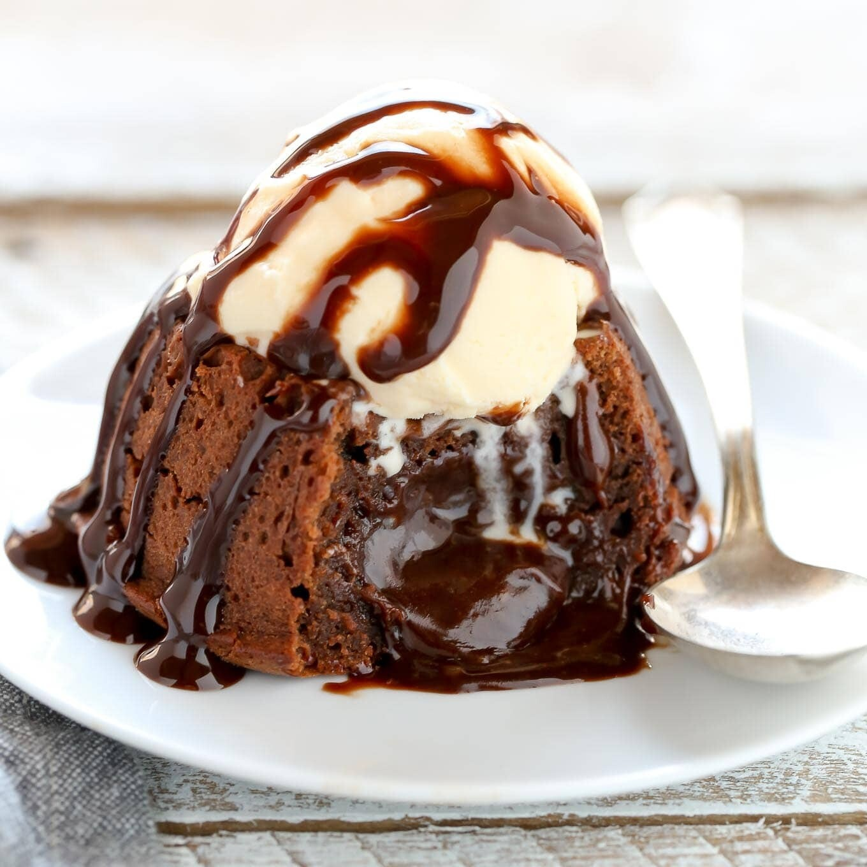 Chocolate Lava Cake Flavoring Sweetened