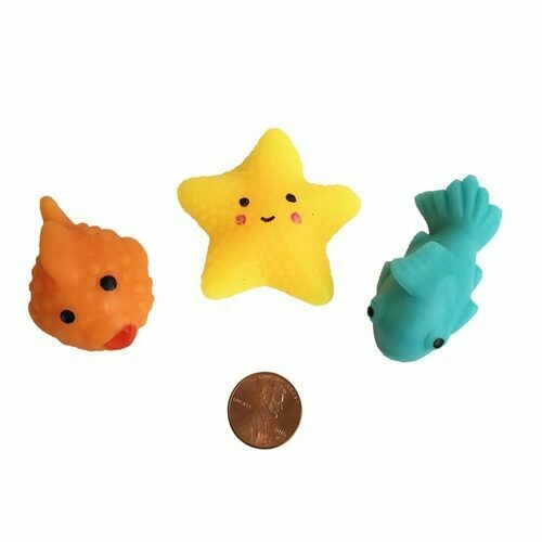 Squishy Sea Creature Toys