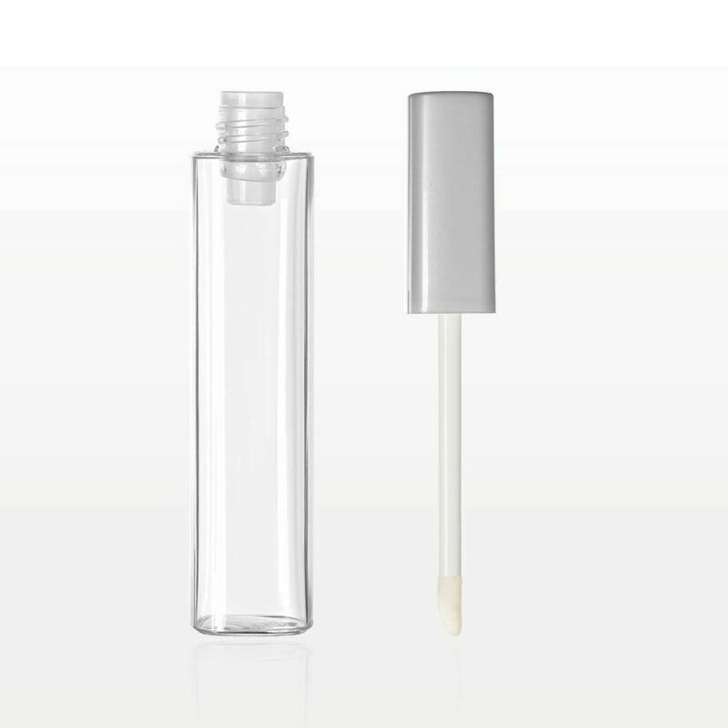.40oz / 12ml Silver Lip Gloss Tubes