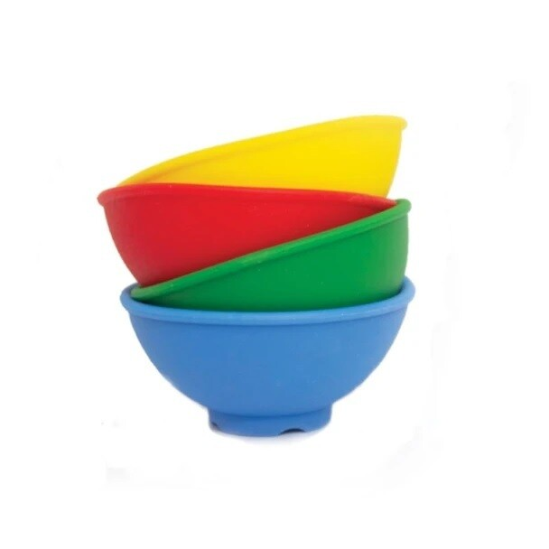 4 Silicone Mixing Bowls