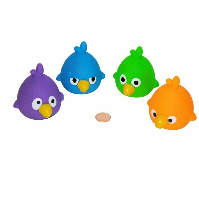 3 Angry Birds Squirting Duckies