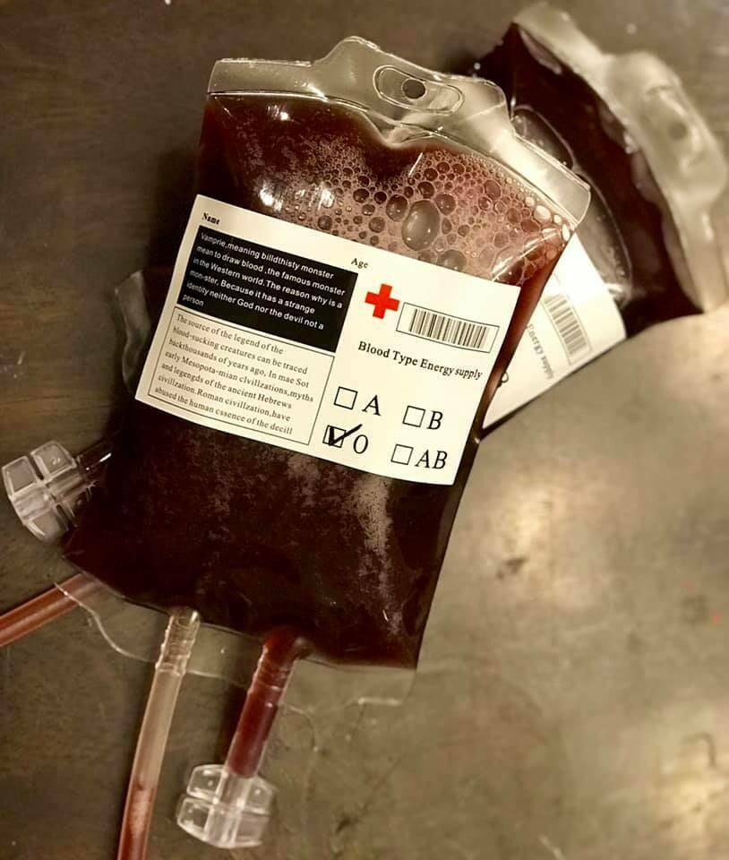 Soap Blood Bags