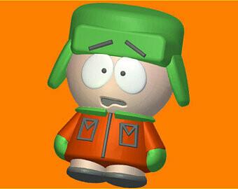 Kyle South Park Mold