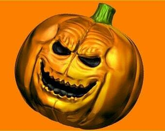 Evil Pumpkin Mold