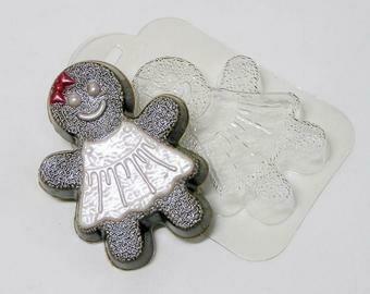 Gingerbread Woman Mold