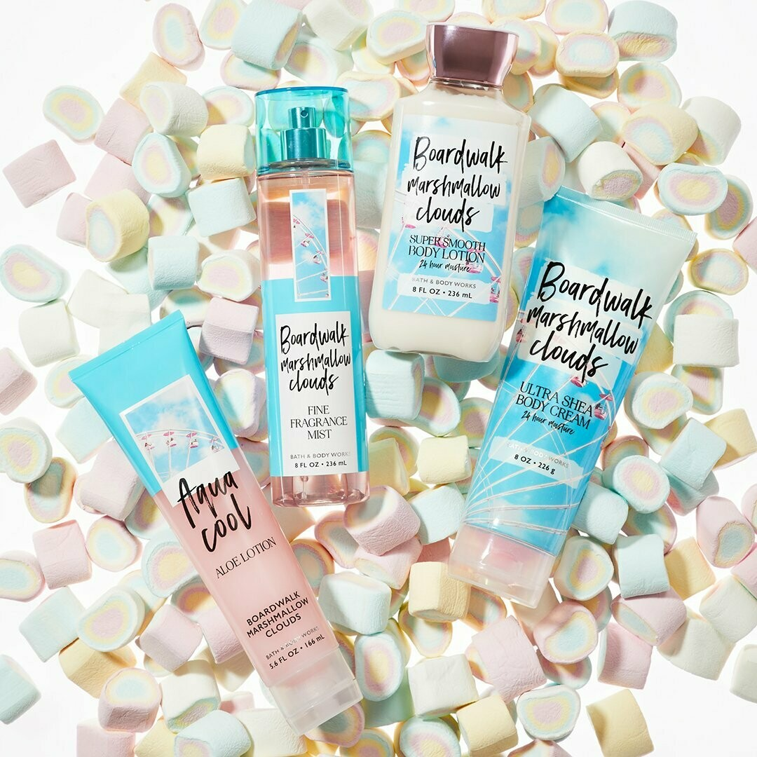 Boardwalk Marshmallow Clouds BBW Type Fragrance