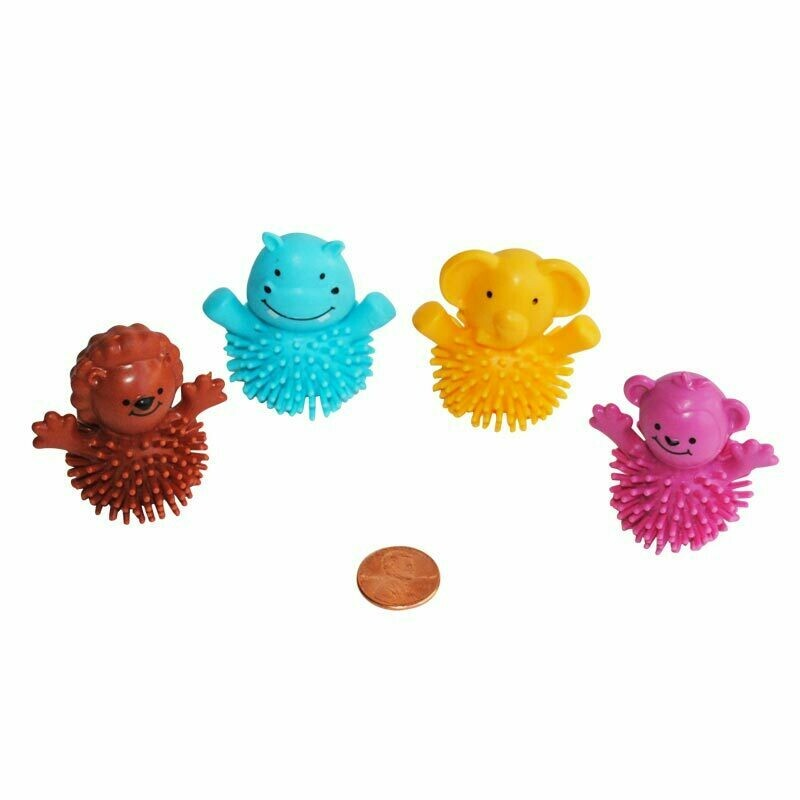 6 Animal Porcupine Finger Puppets