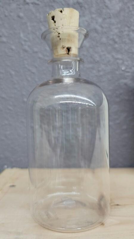 8oz Plastic Cork Bottles