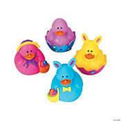 6 Easter Duckies