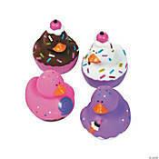 6 Donut Bath Duckies