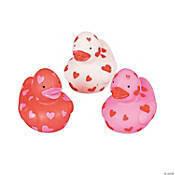 6 Heart Bath Duckies