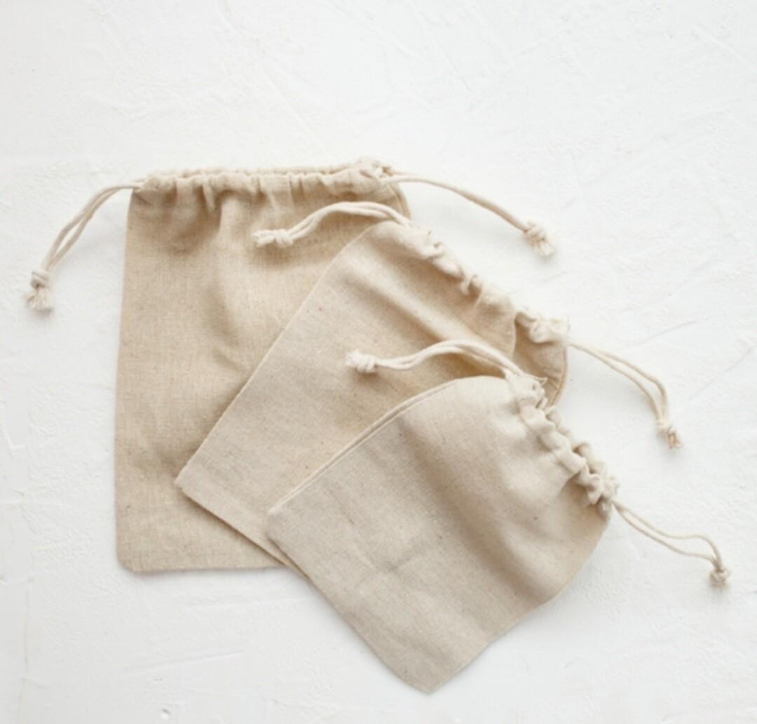 4x6 Muslin Bags