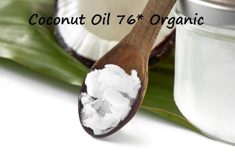 Coconut Oil (76 Degrees) Organic