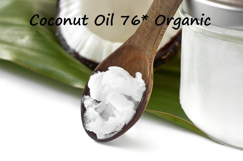 Coconut Oil (76 Degrees) Organic- Gallon