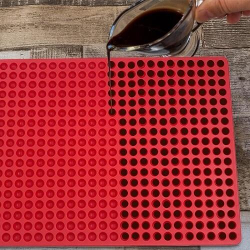 Wax Dots Silicone Mold