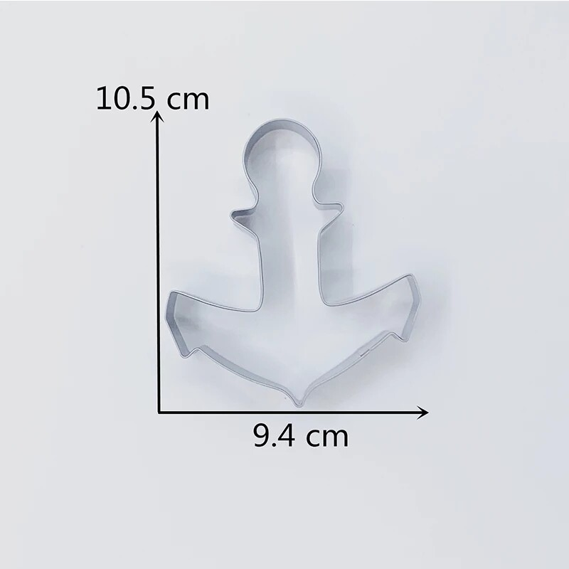 Anchor Cookie Cutters Mold
