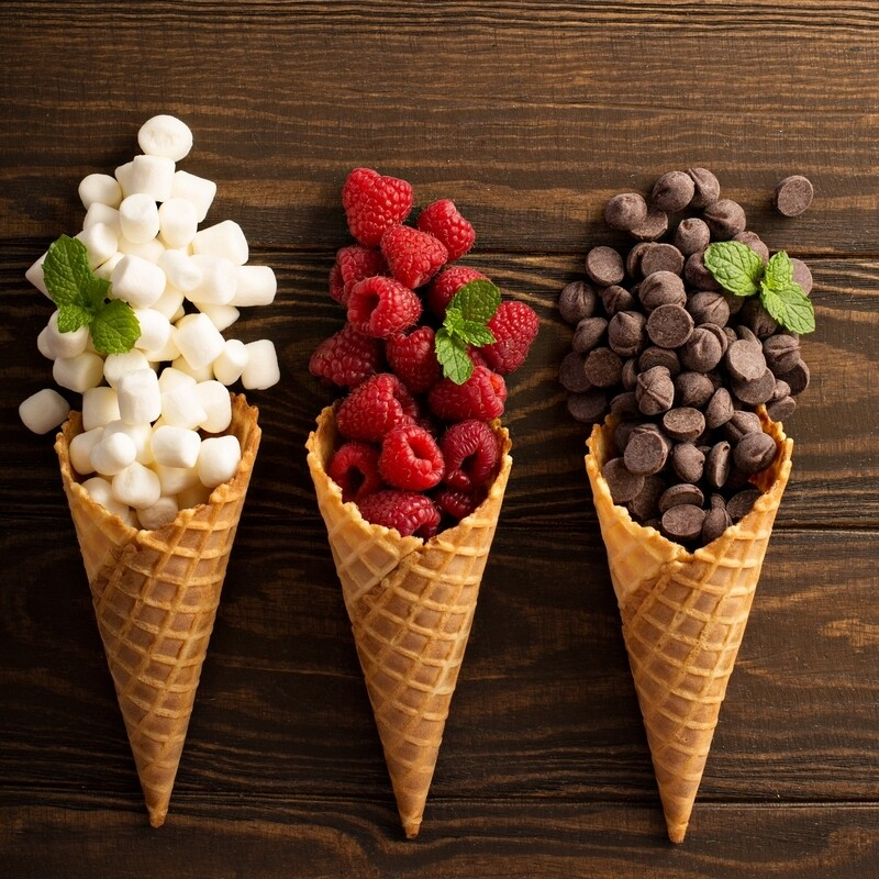 Waffle Cone Flavoring Unsweetened