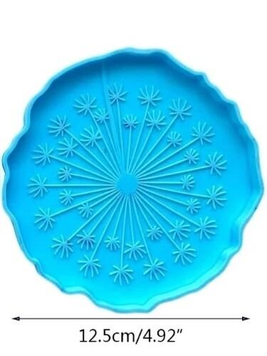 Dandelion Silicone Freshie Mold