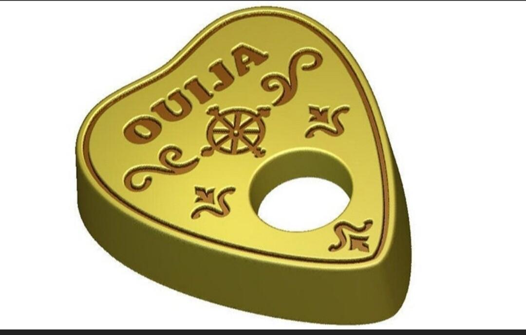 Ouija Board Planchet Mold