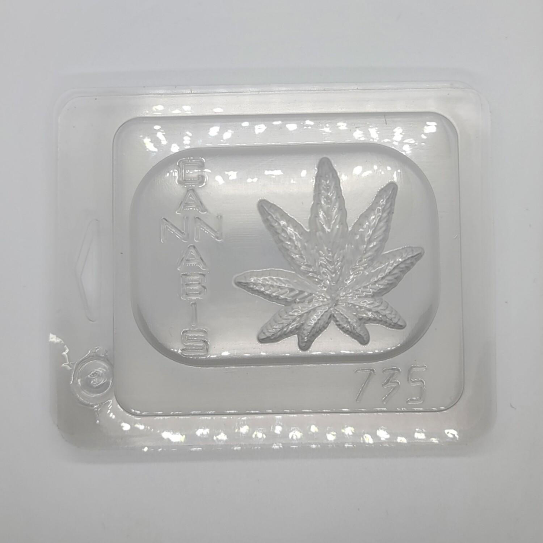 Cannabis Leaf Mold