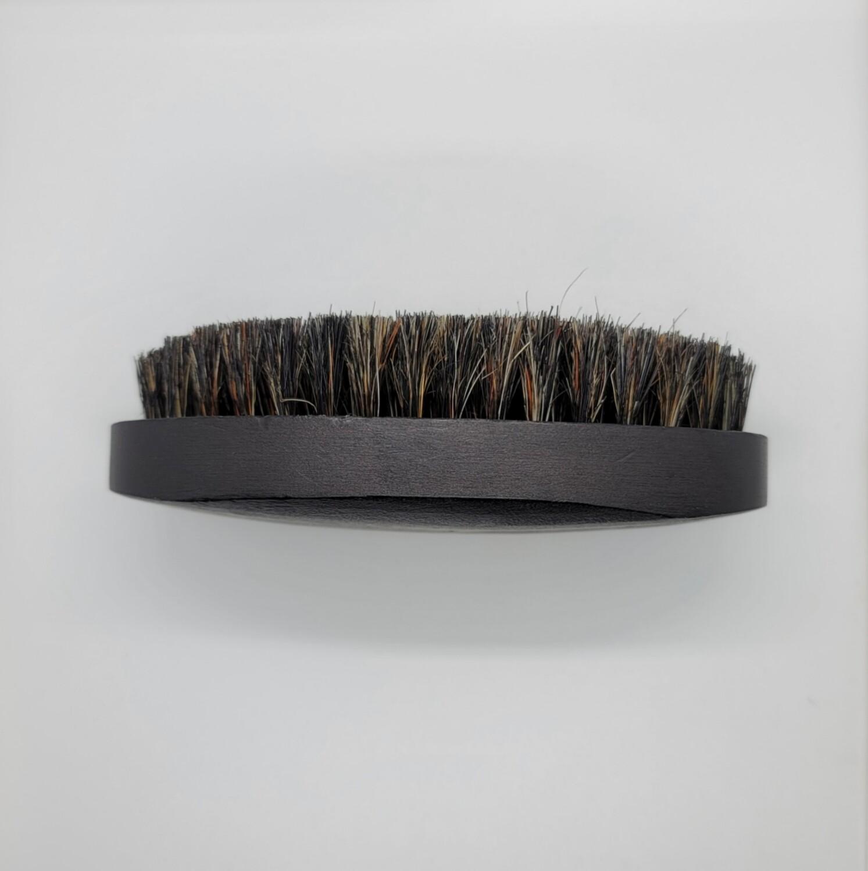 Mens Beard Brush Natural Black Wood