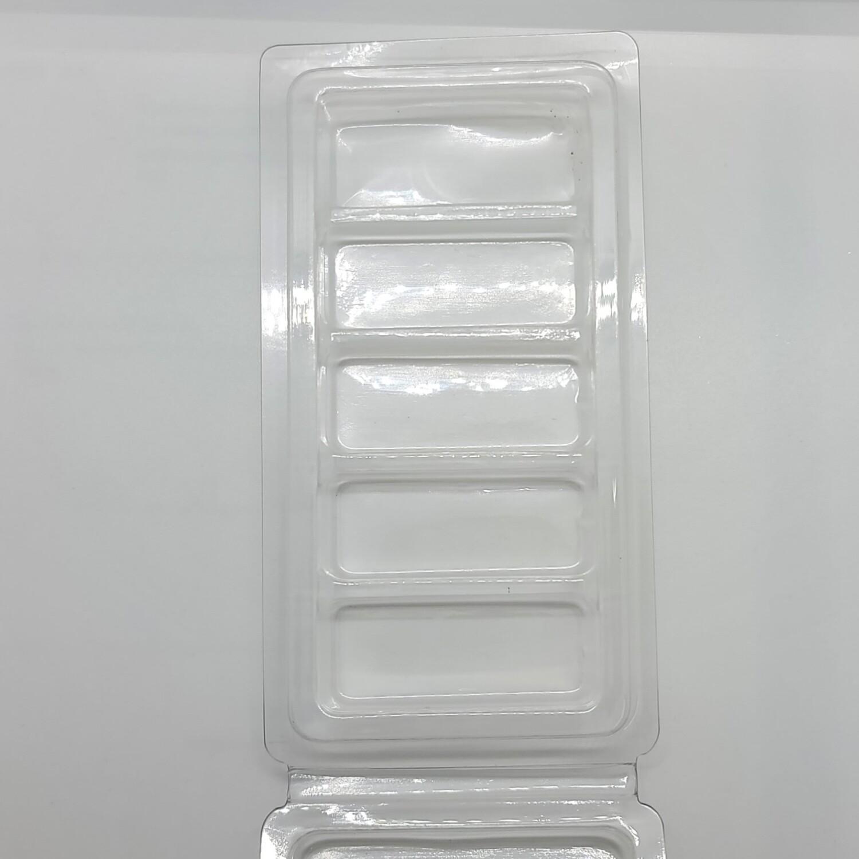 5 Cavity Snapbar Clamshells Case